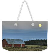 Vermont Full Moon Weekender Tote Bag