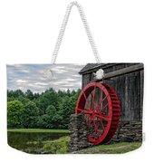 Vermont Grist Mill Weekender Tote Bag