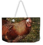 Vermont Rooster Weekender Tote Bag