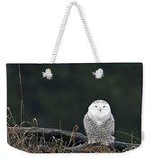 Vermont Snowy Owl Weekender Tote Bag