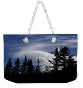 Vermont Tree Silhouette Clouds Cloudscape Weekender Tote Bag