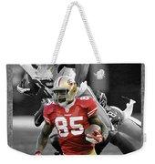 Vernon Davis 49ers Weekender Tote Bag