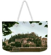 Verona On The Adige Weekender Tote Bag