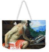 Veronese's Saint Jerome In The Wilderness Weekender Tote Bag