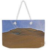 Vertical Dune - The Aqua Tower Weekender Tote Bag