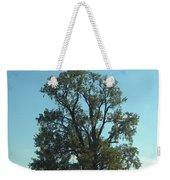 Vertical Tree Weekender Tote Bag