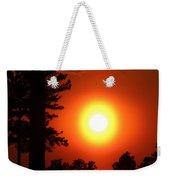 Very Colorful Sunset Weekender Tote Bag