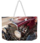 Very Cool Vintage 1930 Chrysler Hot Rod  Weekender Tote Bag