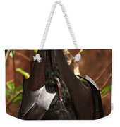 Very Fruity Bat Weekender Tote Bag