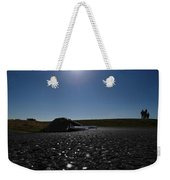 Very Hard Tarmac - Boeing 787 Weekender Tote Bag by Marcello Cicchini
