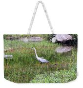 Very Hungry Blue Heron Weekender Tote Bag