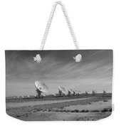 Very Large Array In Black And White Weekender Tote Bag