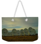 Very Large Array Near Socorro New Mexico Weekender Tote Bag