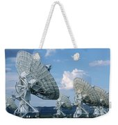 Very Large Array Of Radio Telescopes Weekender Tote Bag
