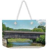 Very Long Covered Bridge Weekender Tote Bag