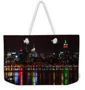 Very Rich Neighbors Weekender Tote Bag