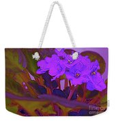 Very Violets  Weekender Tote Bag
