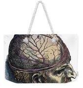 Vesalius: Cranium Weekender Tote Bag