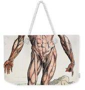 Vesalius: Muscles 01 Weekender Tote Bag