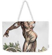 Vesalius: Muscles 02, 1543 Weekender Tote Bag