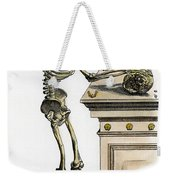 Vesalius: Skeleton, 1543 Weekender Tote Bag