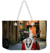 Nicoise Scooter Weekender Tote Bag by Inge Johnsson
