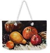 Vessel And Fruit Weekender Tote Bag