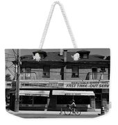 Vesta Lunch 1b Weekender Tote Bag