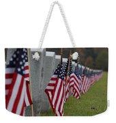 Veterans Day Weekender Tote Bag