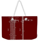 Veterinary Molar Extraction Patent 1911 Weekender Tote Bag