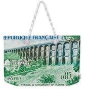 Viaduct Chaumont Haute-marne Weekender Tote Bag