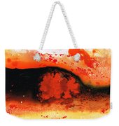 Vibrant Abstract Art - Leap Of Faith By Sharon Cummings Weekender Tote Bag