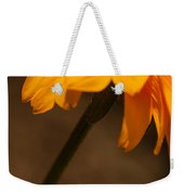 Vibrant Black Eye Weekender Tote Bag