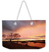 Storm At Dusk 2am-108350 Weekender Tote Bag