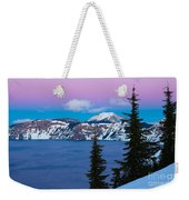 Vibrant Winter Sky Weekender Tote Bag