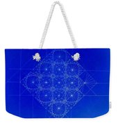 Vibrating Space Time Weekender Tote Bag