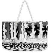 Vibrations Weekender Tote Bag