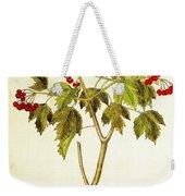 Viburnum Opulus Weekender Tote Bag