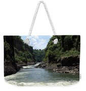 Victoria Falls Bridge - Zambia Weekender Tote Bag