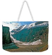 Victoria Glacier From Plain Of Six Glaciers In Banff Np-alberta Weekender Tote Bag
