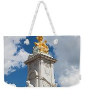 Victoria Memorial Next To Buckingham Palace London Uk Weekender Tote Bag