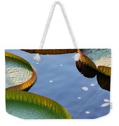 Victoria Waterlilies Weekender Tote Bag