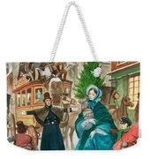 Victorian Christmas Scene Weekender Tote Bag