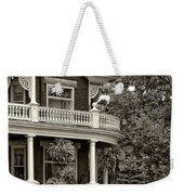 Victorian Classic Sepia Weekender Tote Bag