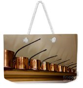 Victorian Copper Pots Weekender Tote Bag