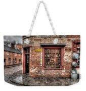 Victorian Corner Shop Weekender Tote Bag by Adrian Evans