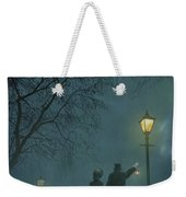 Victorian Couple At Night Weekender Tote Bag