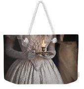 Victorian Couple By Candlelight Weekender Tote Bag