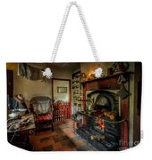 Victorian Fire Place Weekender Tote Bag by Adrian Evans