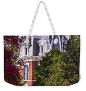 Victorian Home In Autumn Photograph As Gift For The Holidays Print Weekender Tote Bag